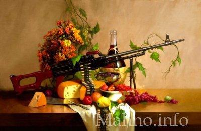 Торговец елками в Киеве пытался продать пулемет - Цензор.НЕТ 9819